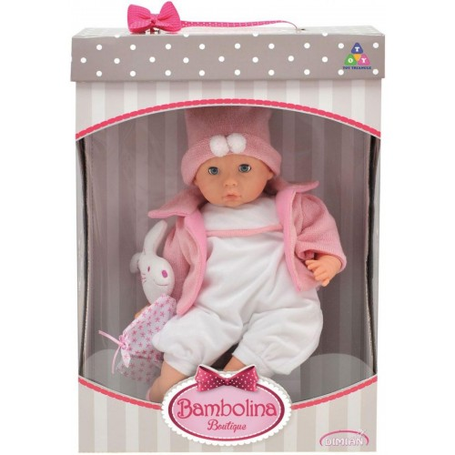 Bambolina Boutique 48cm Baby Doll (BD1604)
