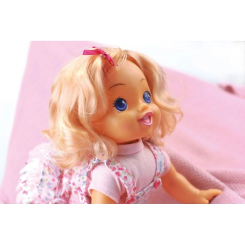 BAMBOLINA 40CM CRAWLING DOLL WITH GIGGLES & SOUNDS