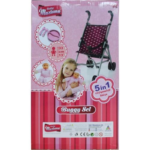 Baby Maziuna Buggy set 5 in 1