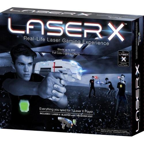Laser X One Player Laser Tag Blaster Gaming Set (88011)