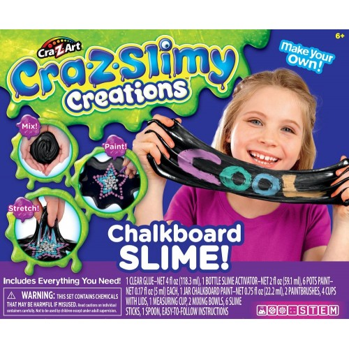 CrazSlimy Chalkboard Slime 18864