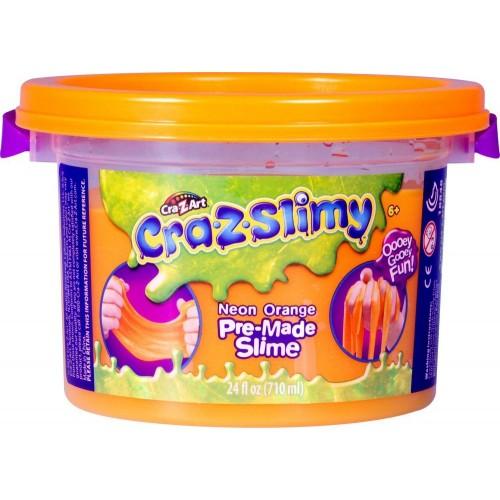 Crazslimy Premade 24oz bucket - NEON ORANGE