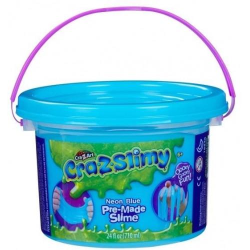 Crazslimy Premade 24oz bucket -NEON BLUE