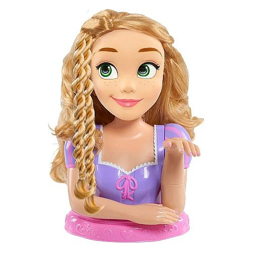 Just Play Disney Princess Deluxe Rapunzel Styling Head Doll - 3 Years & Above