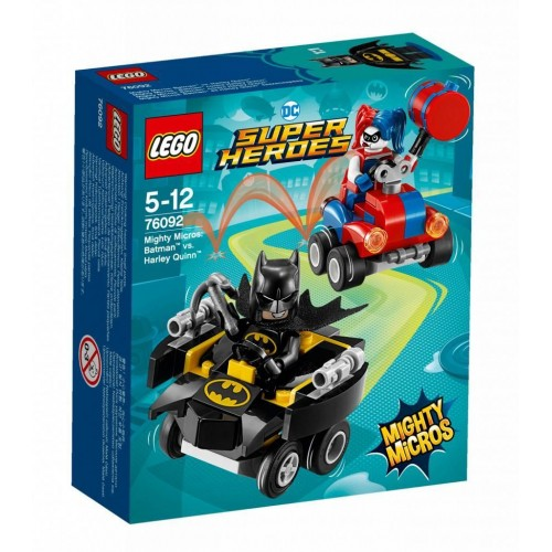 LEGO Super Heroes DC Mighty Micros : Batman vs. Harley Quinn - 76092