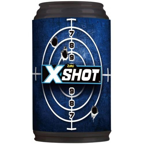 X-Shot Reflex6 Dart Blaster Gun with 3 cans and 8 foam darts (36197)