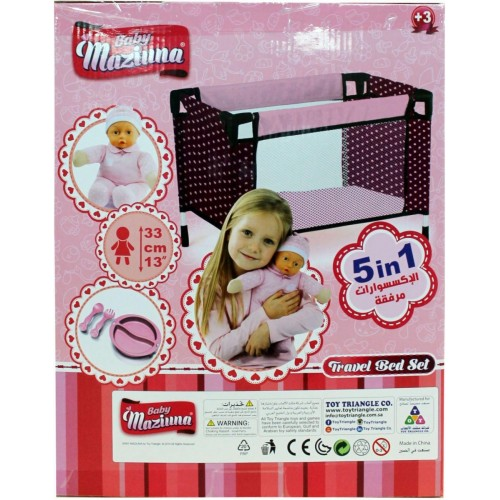 Baby Maziuna Travel Bed Set 5 in 1