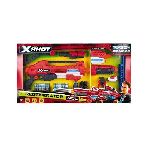X-Shot Zuru Excel Regenerator Toy Gun - 6 Years & Above