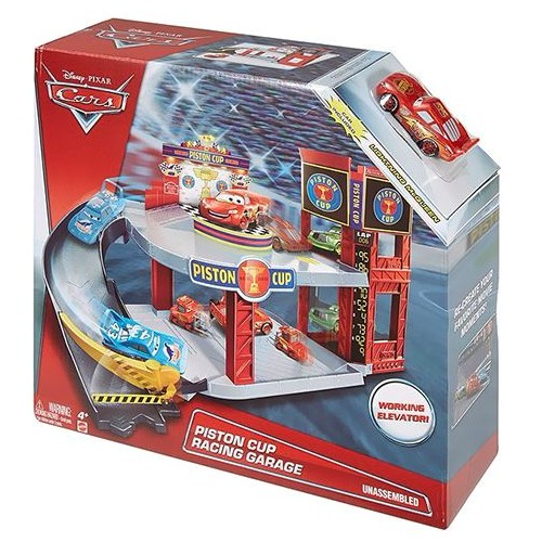 Mattel Disney Pixar Cars Piston Cup Racing Garage DWB90 Playset