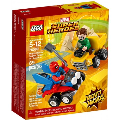 LEGO MARVEL SUPER HEROES Mighty Micros: Scarlet Spider vs. Sandman 76089
