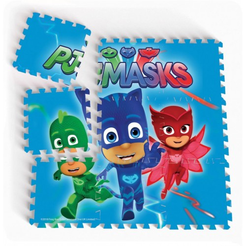 PJ Masks Floor Puzzle Mats-9 Pieces (Large)