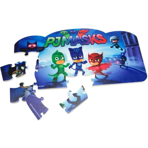 PJ Masks Floor Puzzle Mats-25 Pieces