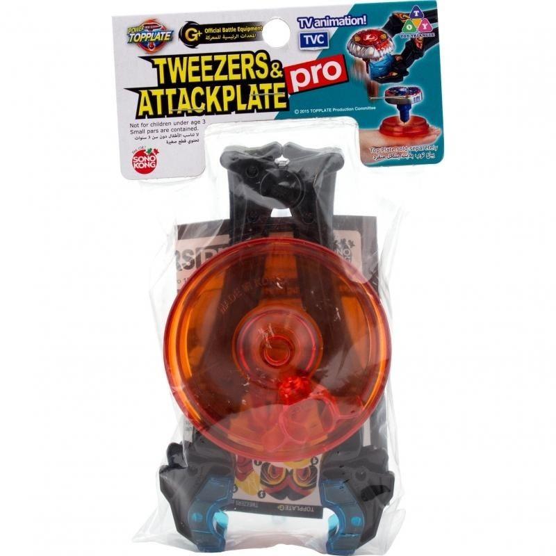 Top Plate-G Tweezers & Attack Dish Pro