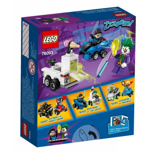 LEGO Super Heroes Mighty Micros : Nightwing vs. The Joker - 76093