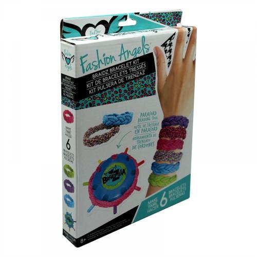 Fashion Angels Express Braidz Bracelet Kit - 8 Years & Above