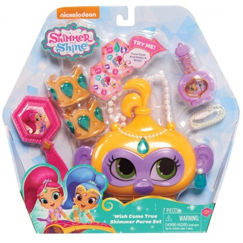 Shimmer & Shine Purse Set , 39525 Yellow