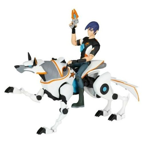 SlugTerra 4 Human Figure with Mechabeast - 78253