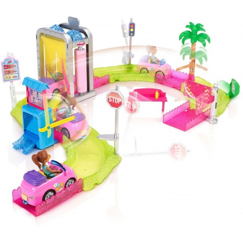 Barbie On The Go Car Wash Playset FHV91
