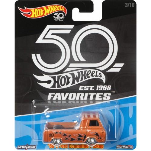 Hot Wheels 50th Anniversary Favorites 60S Ford Econoline Pickup