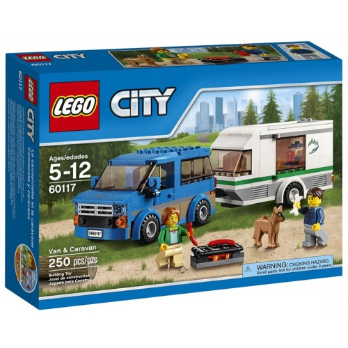 LEGO 60117 City Great Vehicles Van & Caravan