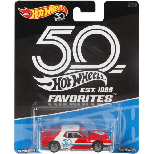Hot Wheels 50th Anniversary Favorites 71 AMC Javelin AMX Vehicle