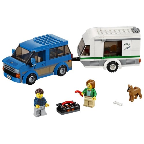 LEGO 60117 City Great Vehicles Van & Caravan