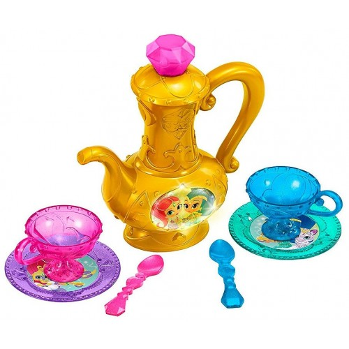Fisher Price Shimmer and Shine Magical Genie Tea Party for Girls, Above 3 Years - FGP20