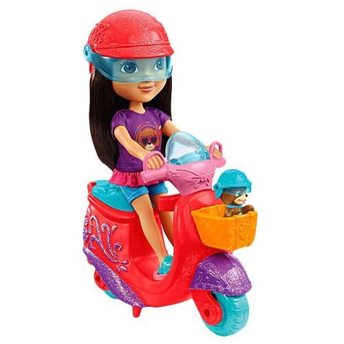 Fisher Price Dora and Friends Dora and Perrito's Scooter Adventure DKJ91 Dolls