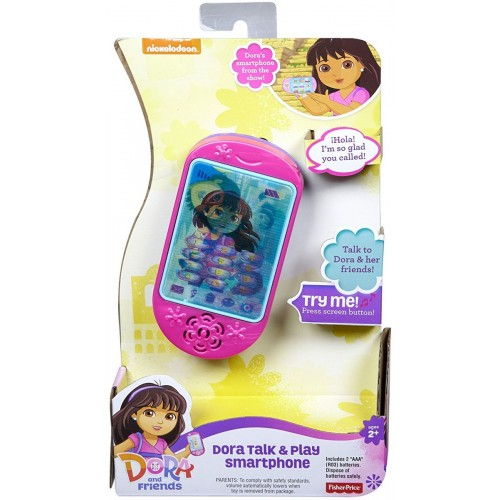 Fisher-Price Dora & Friends Talk & Play Smartphone BHT51 Toy