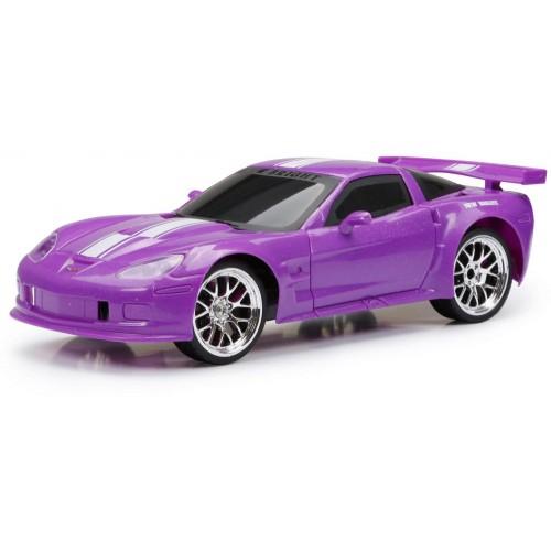 New Bright RC 1:16 Sport Corvette C6R Car Purple (916G-NB)