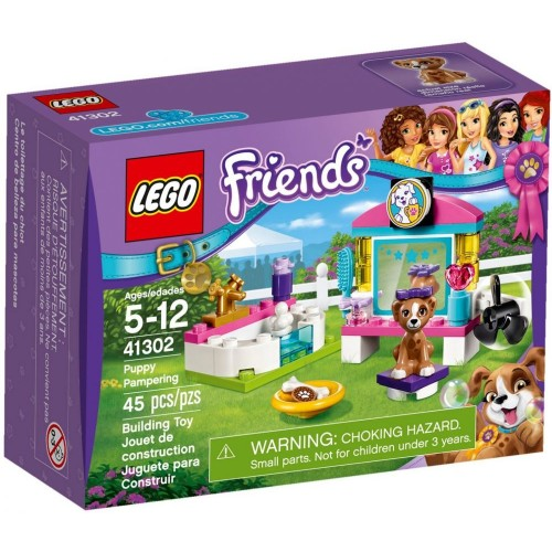 Lego Friends Puppy Pampering Building Toy - 41302