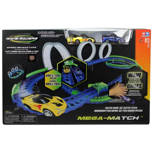 Wave Racers YW211035-1 Mega Match Playset, Multi Color