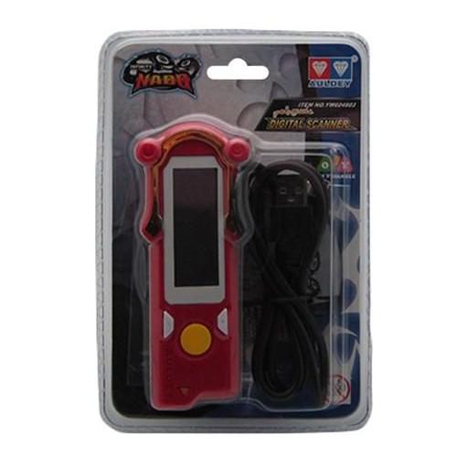 Infinity Nado YW604903 Digital Scanner, Red/Black