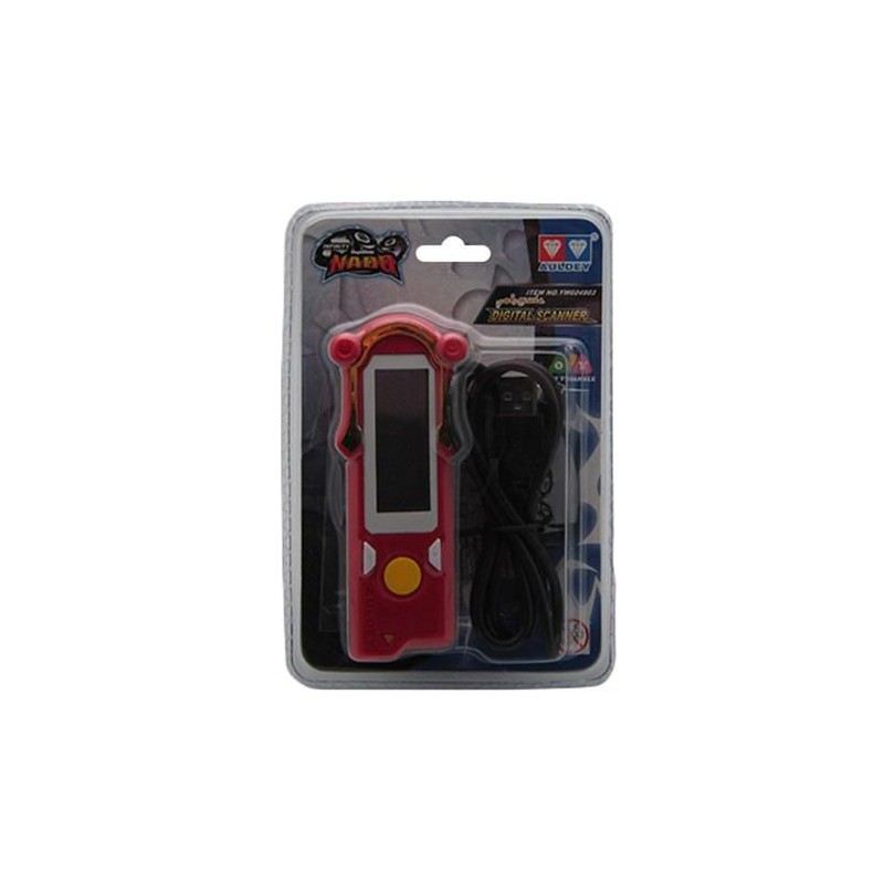 Infinity Nado YW604903 Digital Scanner, Red/Black