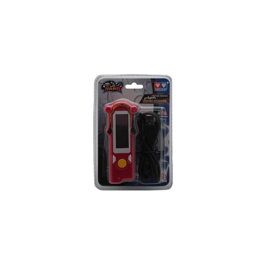 Infinity Nado YW604903 Digital Scanner, Red/Black - 20Toys