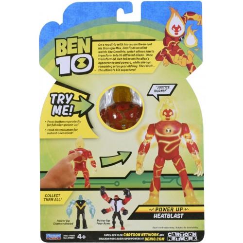 Ben 10 Deluxe Action figures Heat blast 76600A