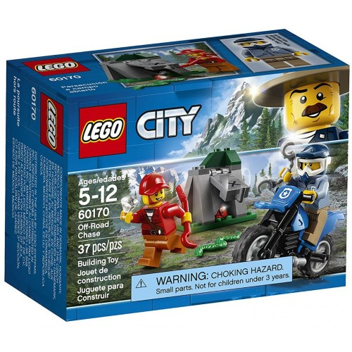 LEGO City Police Off-Road Chase 60170 Construction, Building Sets & Blocks - 6 Years & Above