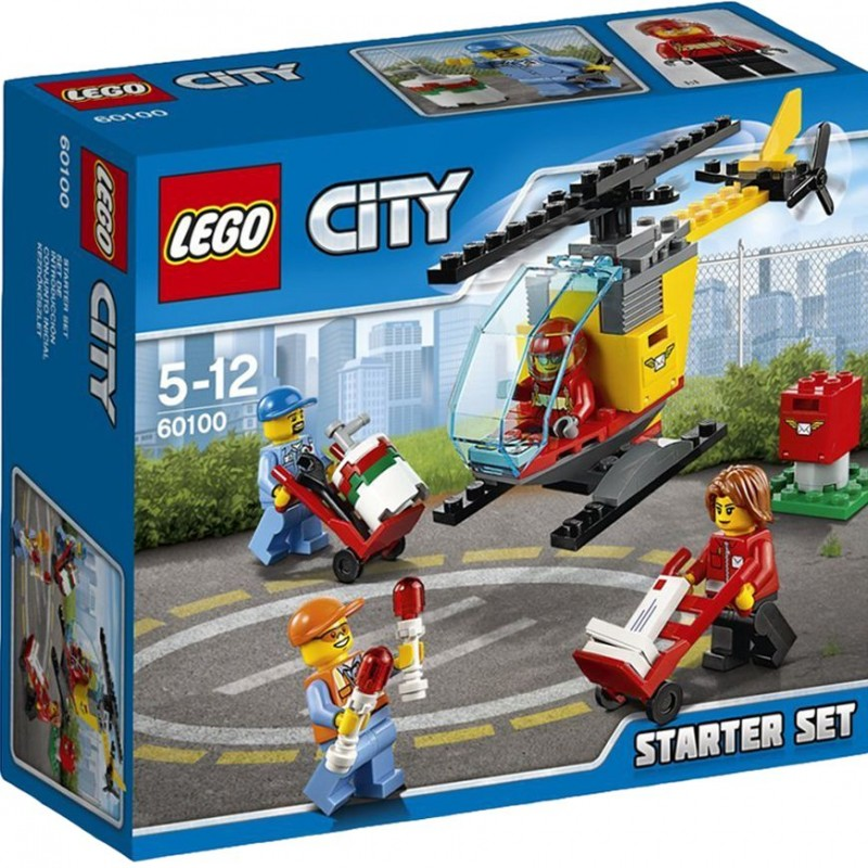 204a733c66d LEGO City Airport Starter 60100 Building Set - 20Toys