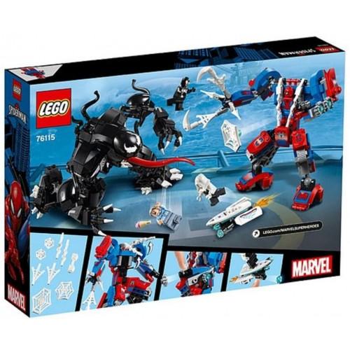 LEGO Marvel Super Heroes Spider Mech vs. Venom 76115