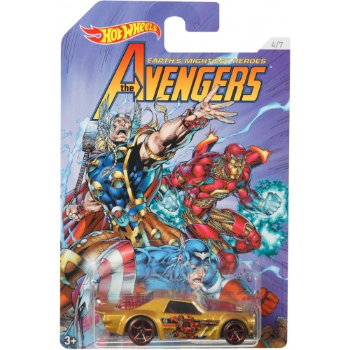 Hot Wheels the Avengers - Fkd48_Fkd54