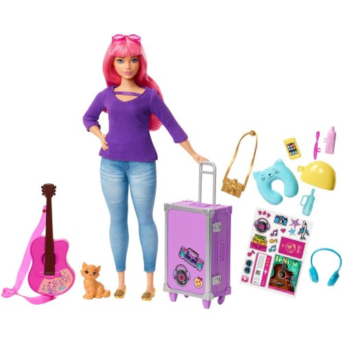 Barbie Daisy dreamhouse Adventures Doll & Accessories (FWV26)