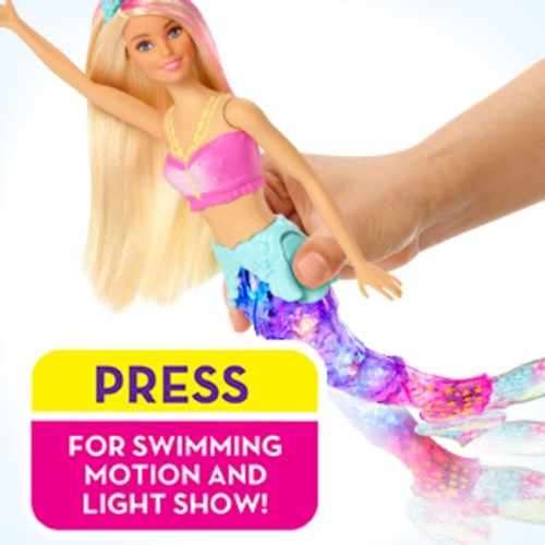 Barbie Dreamtopia Sparkle Lights Mermaid (GFL82)
