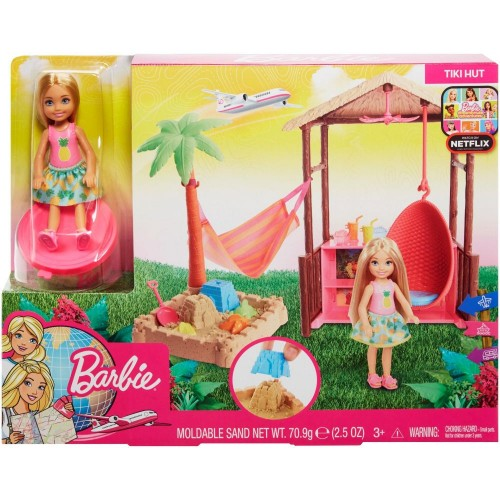 Barbie Chelsea Tiki Hut Dreamhouse adventures (FWV24)