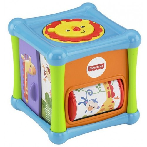 Fisher-Price Growing Baby Animal Activity Cube [BFH80]