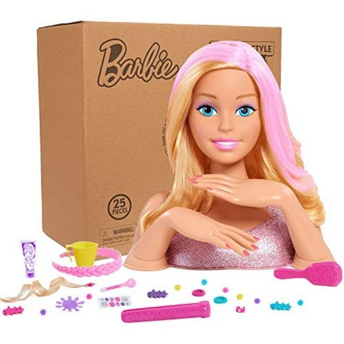Barbie Deluxe Styling Head(Blonde)- Brown er