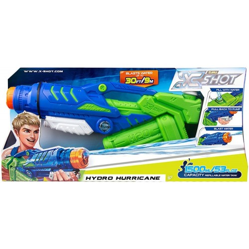 X Shot Water Warfare Hydro Hurricane 5641 Water Guns Toy