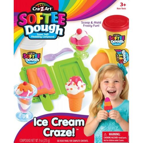 Cra-Z-Art Softee Dough Ice Cream Shop 3 Oz Cans Childrens Art Doughs (13579)