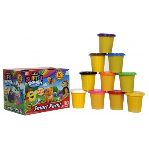 Softee Dough Cra-Z-Art Value Box-10 Pack (13565)