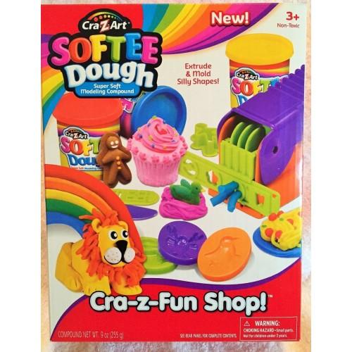 Cra-Z-Art Softee Dough Cra-Z-Fun Shop Playset, NB909050