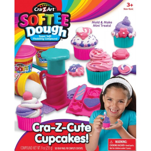 Cra-Z-Art Softee Dough Cupcake Shop set (13584)